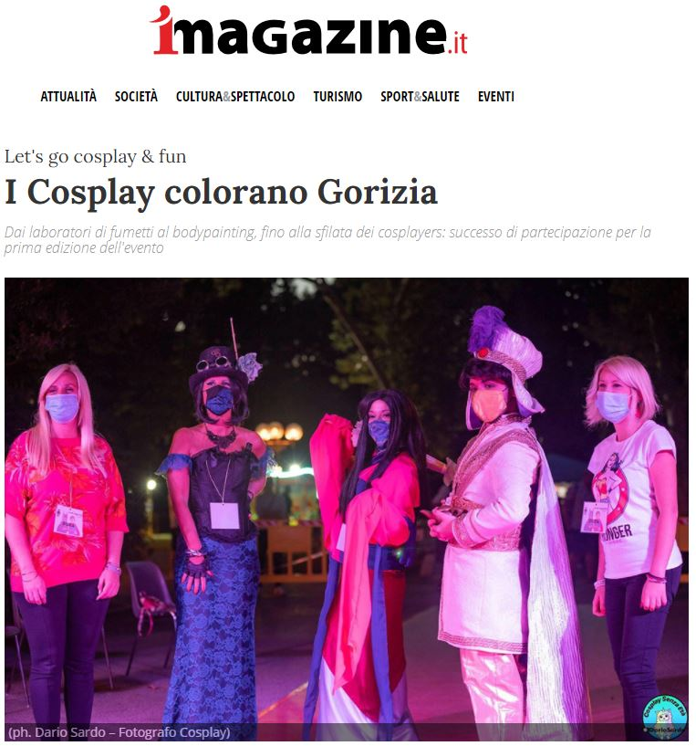 Cosplay colorano Gorizia
