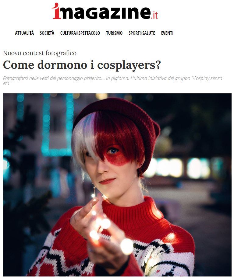 Come dormono i cosplayers
